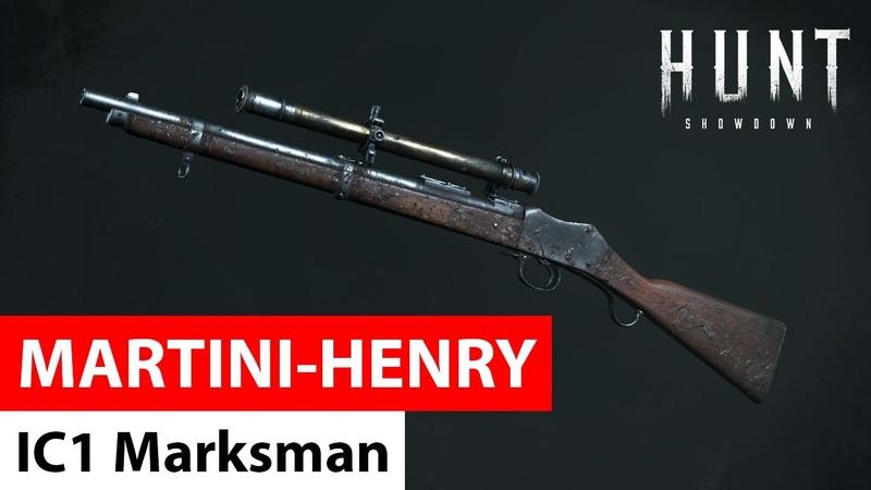 Martini Henry IC1 Marksman Hunt Showdown
