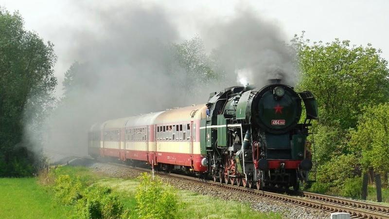 Parní vlaky s Rosničkou 464 202 1 5 2018