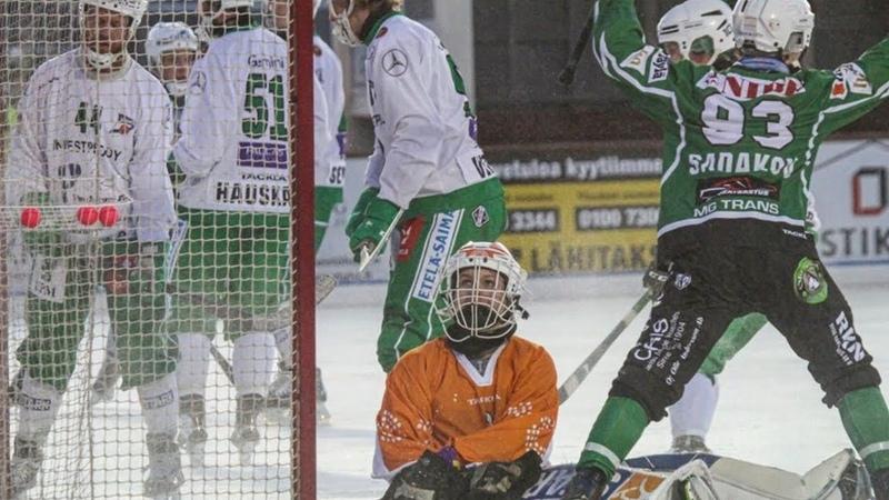 Bandy Finaali 2020❃14 3 Akilles Veiterä Bandyliigan 2019 2020