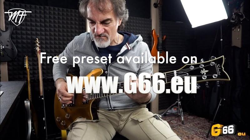 Fractal AXE FX3 FM3 - Free Preset MF Britt 800 (based on Marshall JCM800)