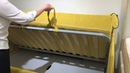 Мягкая кровать-тахта Аланд с металл. ПМ (Sontelle)