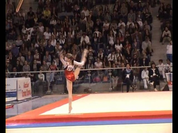 Anastasia Grishina FX Jesolo Trophy 2012