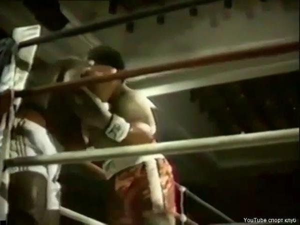 Первый бой Майка Тайсона на профессональном ринге
