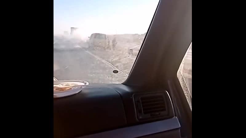 На трассе в Алнашах горела машина Удмуртия 17 11 2020