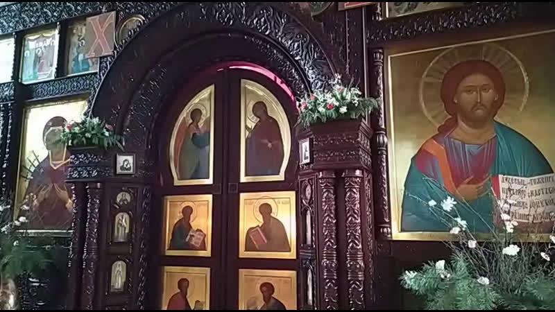 22 05 2020 Святителя Николая архиепископа Мир Ликийских Чудотворца Божественная Литургия