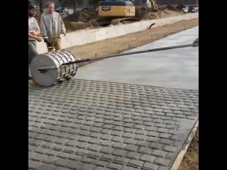 Вот вам и тротуарная плитка