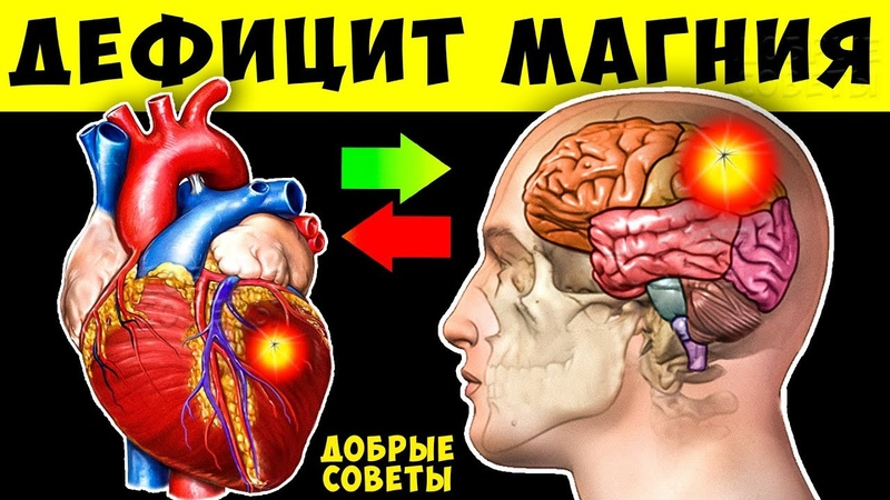 12 острых признаков нехватки Магния в организме о которых не знает 90% людей