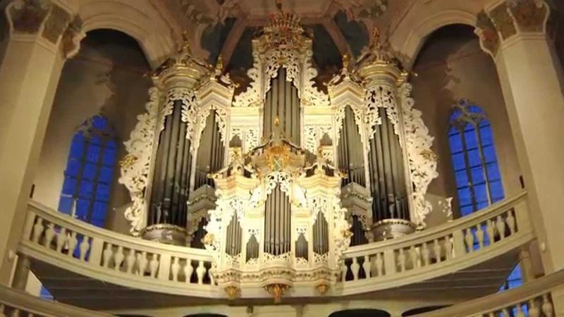 St. Wenzel organ, Daniel Roth plays de Grigny Tierce en taille (19 August 2011)