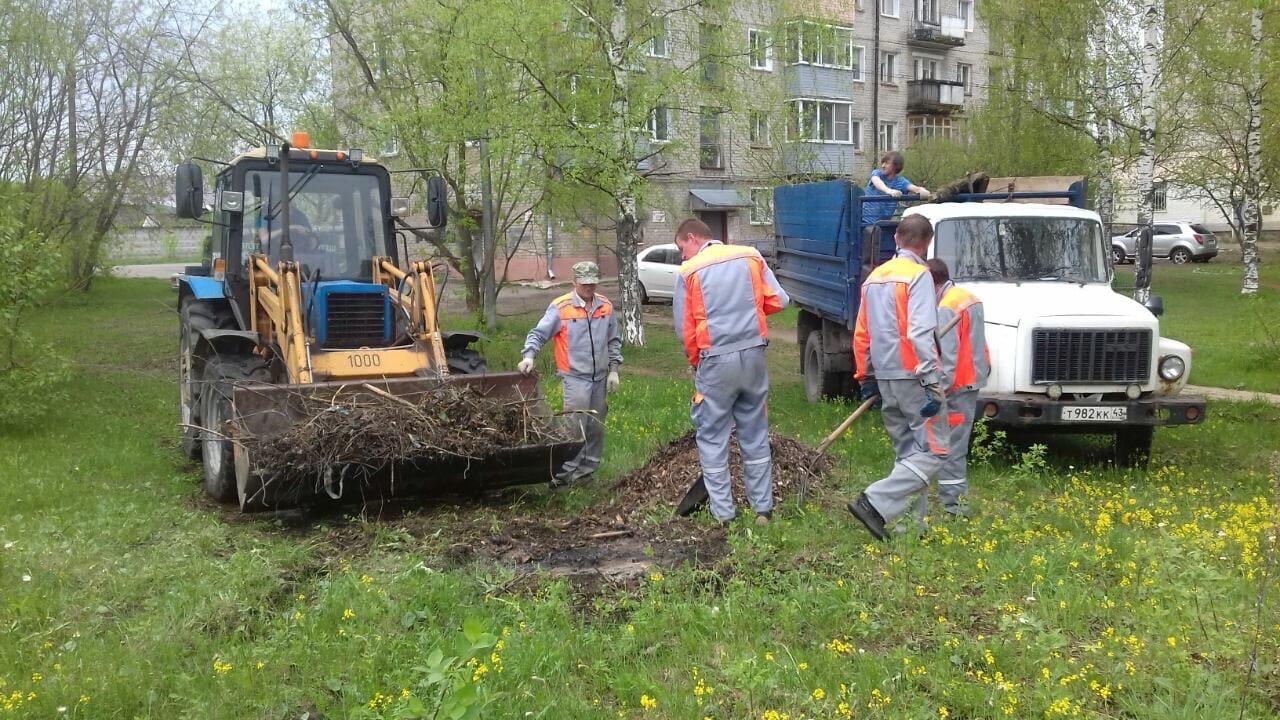Ул. Северо-Садовая, 1. Вывоз мусора после проведения