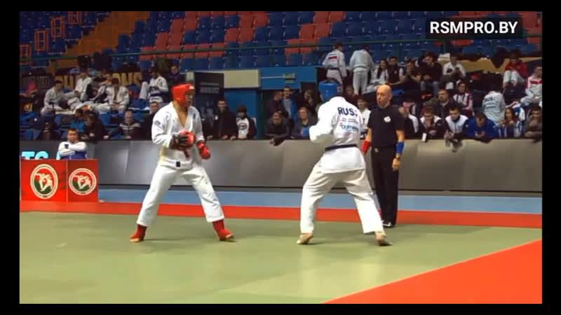 European Open Hand to Hand Combat Championship Brest 2021 Belarus 🥈
