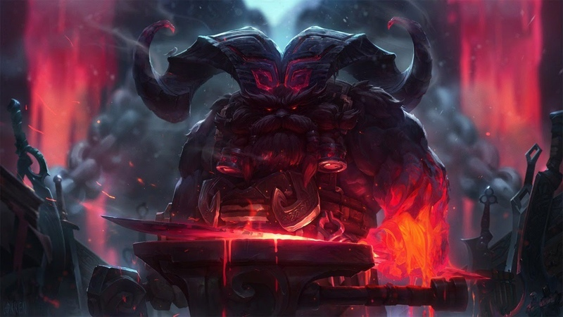 League of Legends I Playing on Ornn