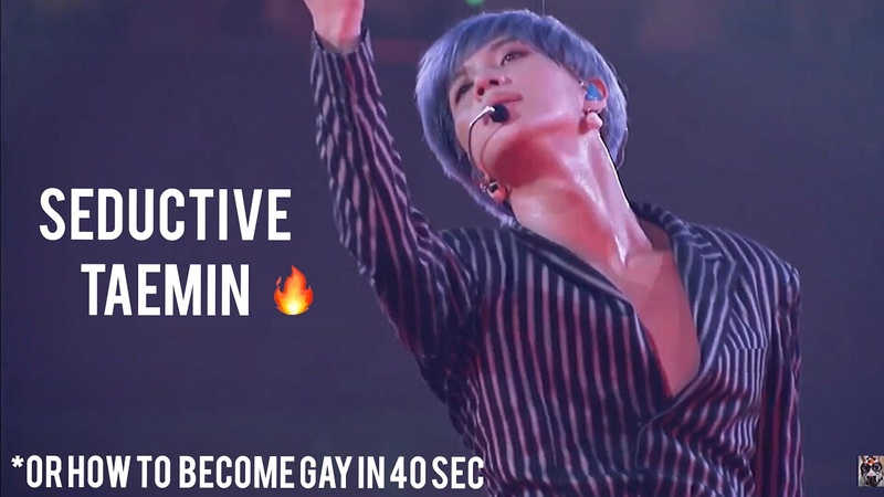 Seductive Tаеmin (매혹적인 태민)   or how to become gay in 40 sec   SHINee