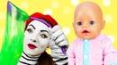 Смешные видео куклы - Готовим кашу для БЕБИ БОН! – Весёлые игры и мультики для детей с Baby Born