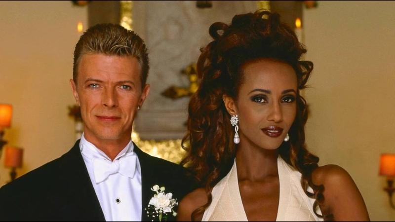 David Bowie Iman Abdulmajid - Wedding Photos (Florence 06061992)