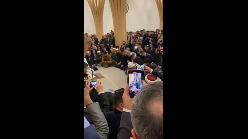 Эрдоған в Англии читает Коран