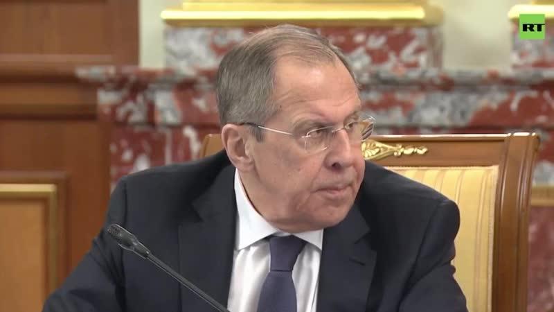 Мишустин вручил Сергею Лаврову медаль Столыпина