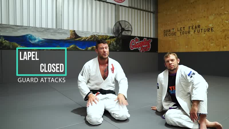 Awesome Lapel Closed Guard ATTACKS bjf_base