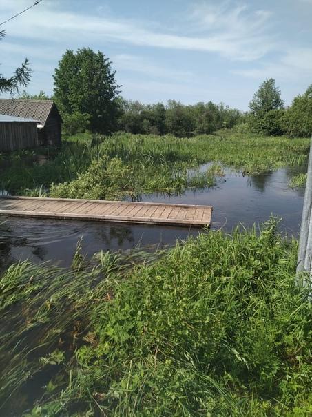 Мост чудом не ушёл в открытое плавание