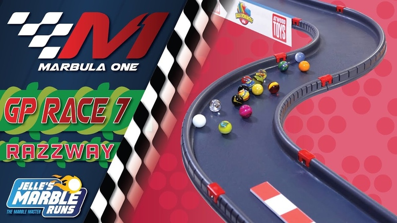 Marbula One Razzway GP S1R7 Marble Race by Jelle's Marble Runs