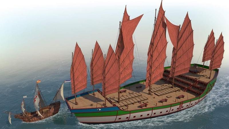 Древние открытия Древние китайские супер корабли s4e5