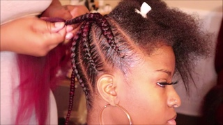 Watch and learn: feedin ponytail | spetra prestretched hair