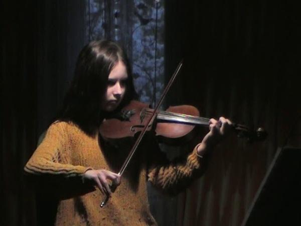 Генрик Венявский Концерт №2 первая часть Исп Алиса Панина