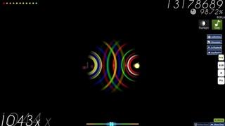 osu! - Nico Nico Douga - BARUSA of MIKOSU [TAG4] +EZFL 1x miss, 1080pp when ranked