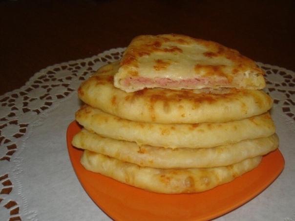 Обалденные Сырные лепешки за 15 минут