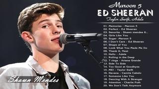 Shawn Mendes, Maroon 5, Ed Sheeran,  Adele, Rihanna, Taylor Swift, Ariana Grande - Top 40 Songs 2020