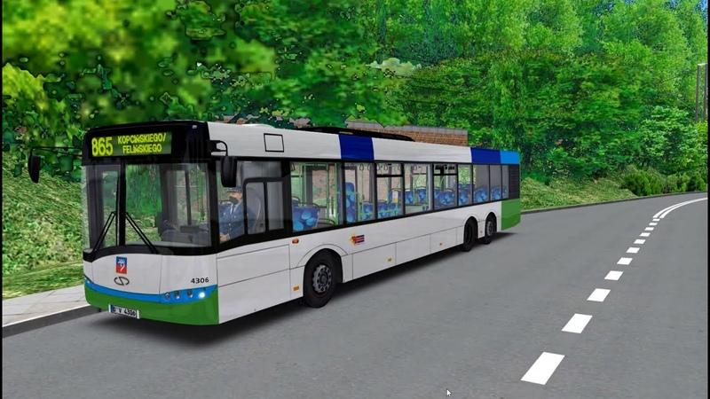 Omsi 2 Простой маршрут оказался сложным для Solaris urbino 15 Szczecin