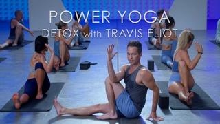 FULL Power Yoga Detox Class (60min.) with Travis Eliot - Level Up 108 Program