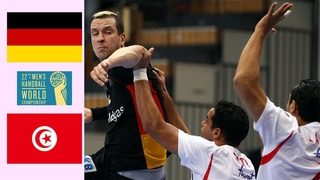 Germany vs Tunisia ● Full Match ● IHF World Men's Handball Championship 2011 Sweden