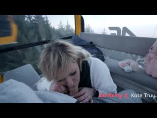 Kate Truu  Risky Public Sex In The Mountain And Skylift - Vlog Teaser For Lustery