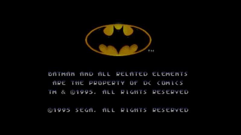 моё личное прохождение игры на эмуляторе Сеги Бэтмен и Робин часть1 на геймпаде