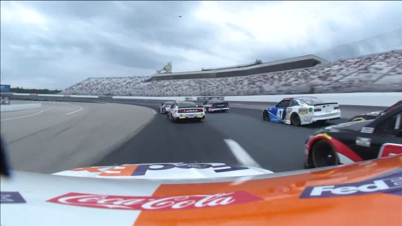 11 Denny Hamlin Onboard New Hampshire Round 20 2020 NASCAR Cup Series