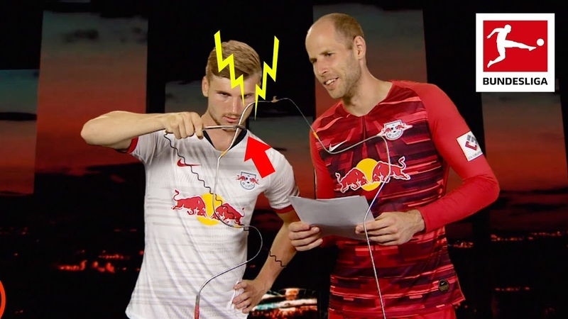 Timo Werner vs Peter Gulacsi Buzz Wire Challenge