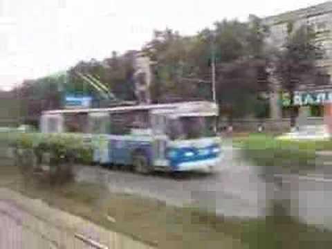 Moscow trolleybus ZiU 682GOO 2548
