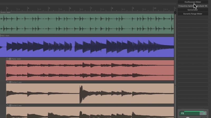 Dock Your Master Track with Metering in REAPER