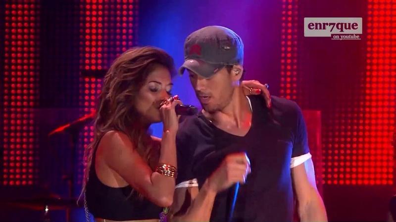 Enrique Iglesias, Nicole Scherzinger Heartbeat LIVE HD 4k