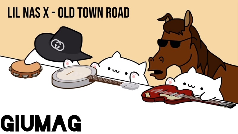 """Bongo Cat - Lil Nas X """"Old Town Road"""" (Official Cat Cover Video) [By Giumag]"""