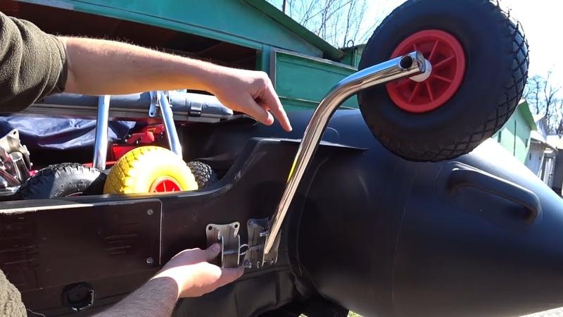 Транцевые колеса Перекидные быстросъемные и стандартные Разбираемся в их отличиях и назначении