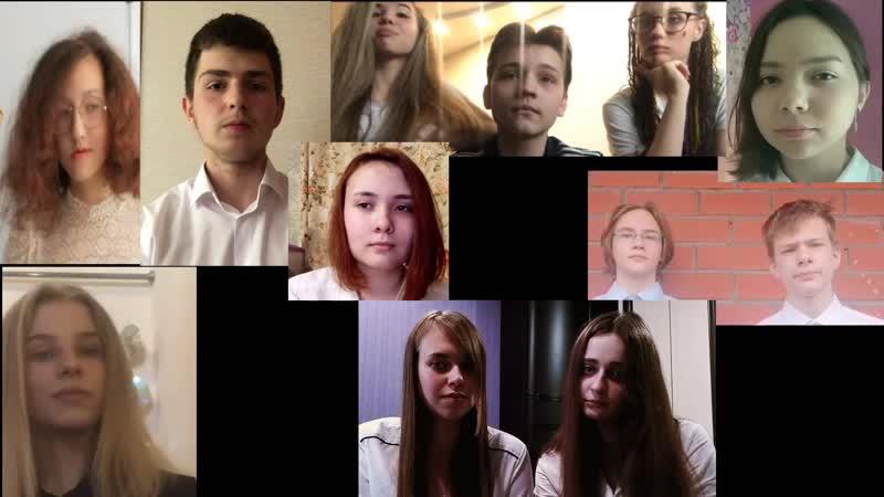 Песня До свиданья, друзья, до свиданья в исполнении выпускников 9 класса Лицея № 88 г. Екатеринбурга.