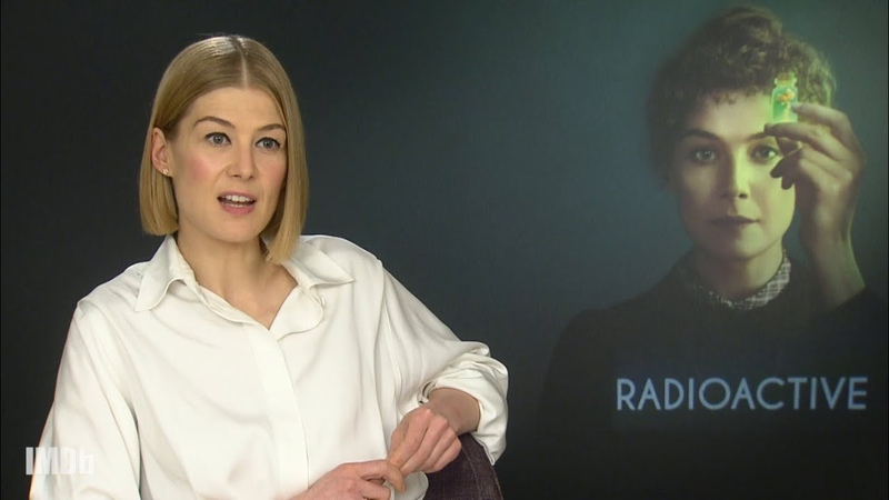 Rosamund Pike on Becoming Marie Curie in 'Radioactive'
