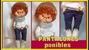 TUTORIAL muñeco LUCA, HACEMOS EL PANTALÓN TEJANO video - 491