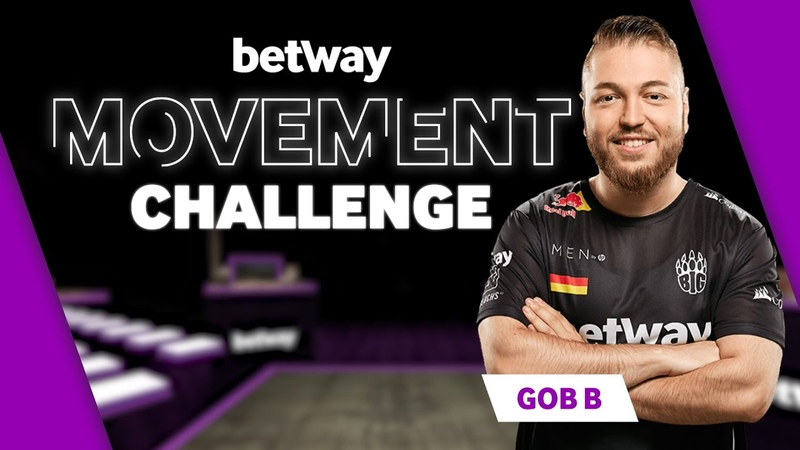 Gob b Plays Betway's Movement Challenge