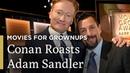 Conan O Brien Roasts Adam Sandler AARP The Magazine's Movies for Grownups® Great Performances