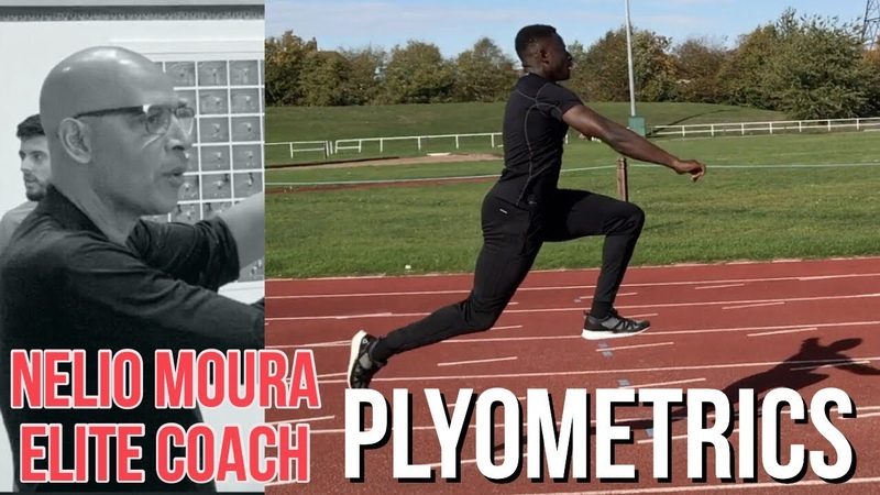 Plyometric Training with Nelio Moura Coach to Olympic long jump champions. Variations Progressions