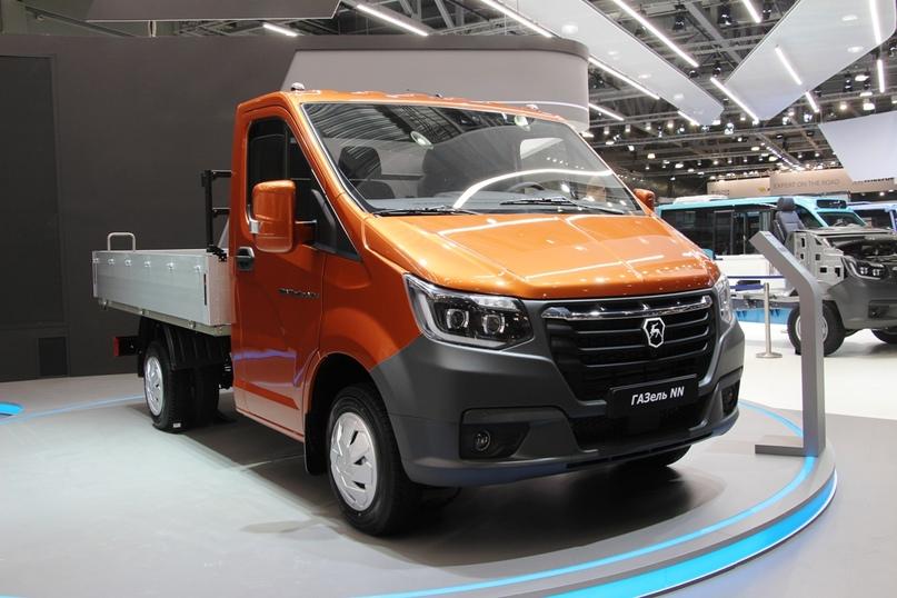 New Next: ГАЗ показал обновленную Газель на выставке Комтранс, изображение №2