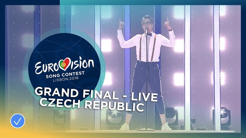 Mikolas Josef Lie To Me Czech Republic LIVE Grand Final Eurovision 2018