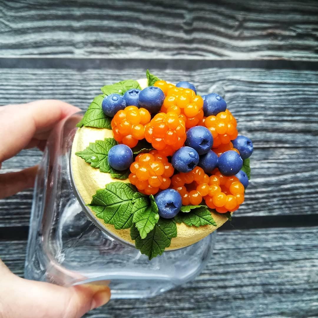 Фото: Украшение посуды полимерной глиной — нравится
